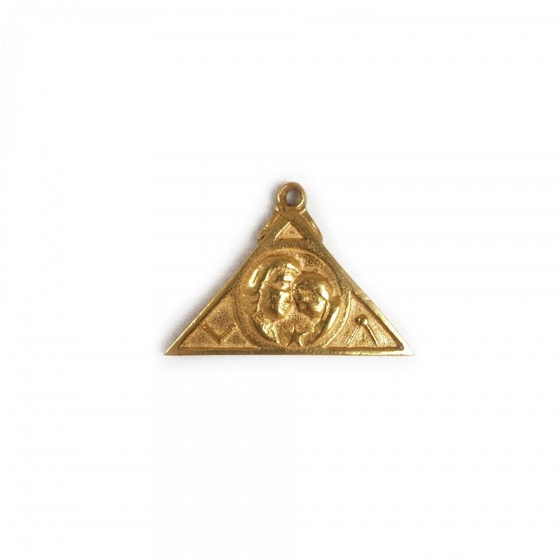 Médaille d'adoption triangulaire (sans gravure)