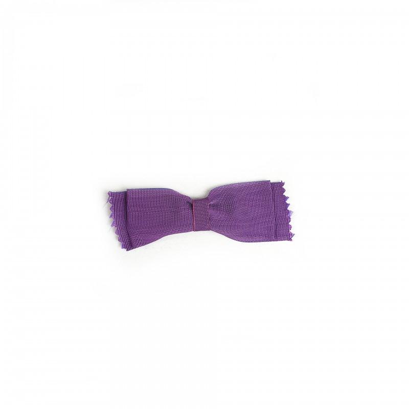 Nœud de Deuil pour Manteau MALTE, ruban pourpre-violet sur nourrice fixation