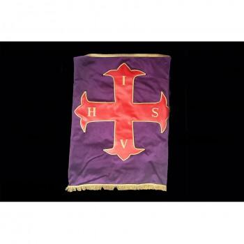 Nappe d'Autel CRC violette,...