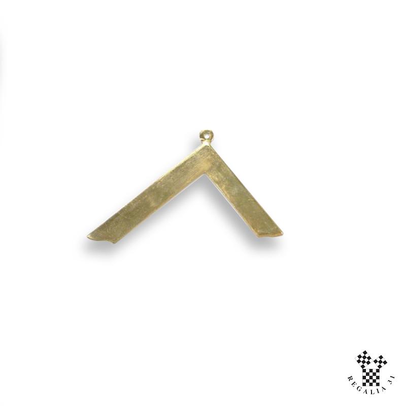 Bijou de sautoir VM bronze doré
