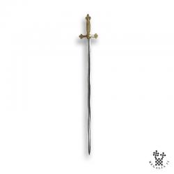 Épée flamboyante, garde...