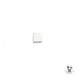Cube blanc TEMPLE, teflon