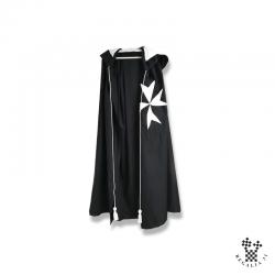 Manteau noir croix MALTE,...