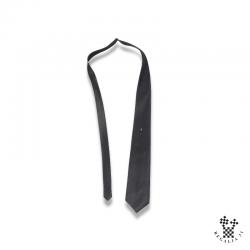 Cravate polyester, noire,...