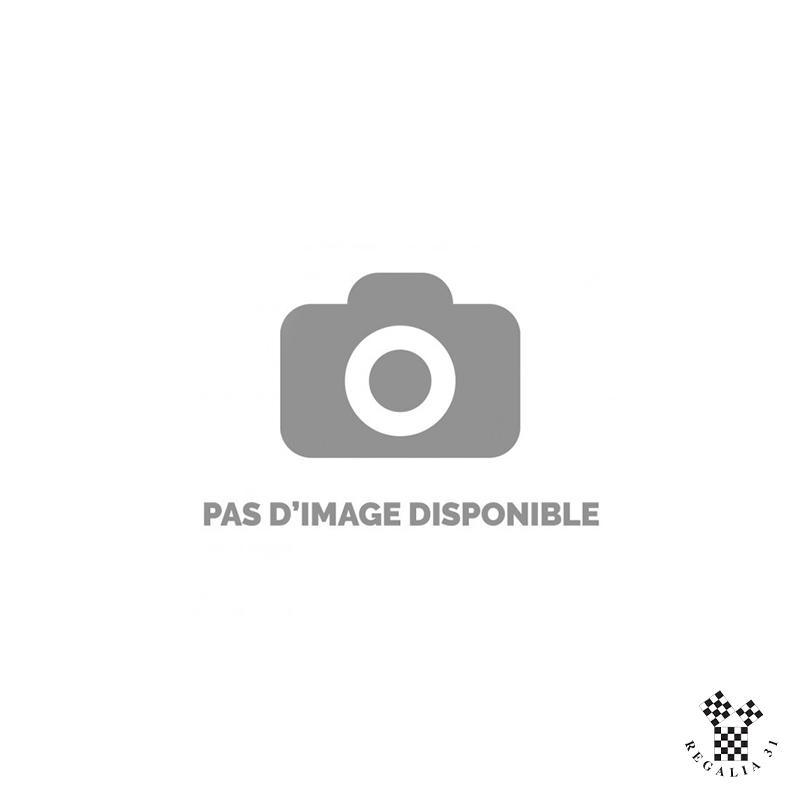 """Rallonge indépendante 25 cm. boucle """"serpent"""" dorée, sangle bleu roi  50 mm (G.L.)"""