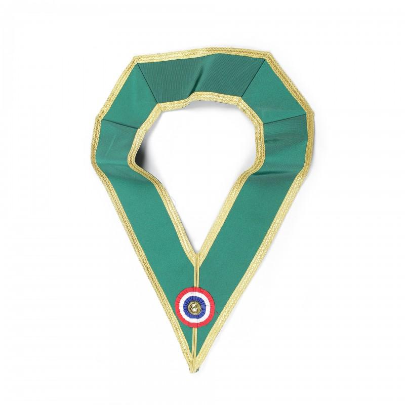 Collier de Grand Officier d'HONNEUR ALLIÉS, moire galonné or