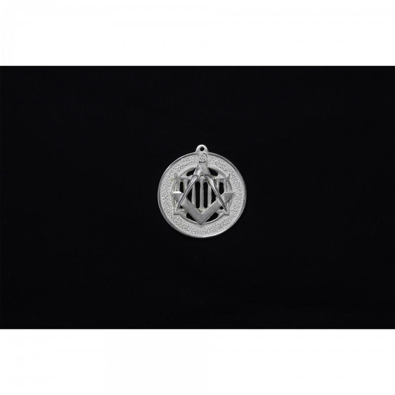 Bijou Officier Conseil ALLIÉS, emblème fonction sur gril, bronze argenté (y compris Souv.M.)