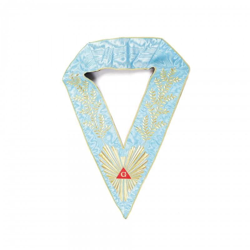Sautoir de V.M./An.V.M., RF, comme 1E22401 + broderie acacia 252-feuilles