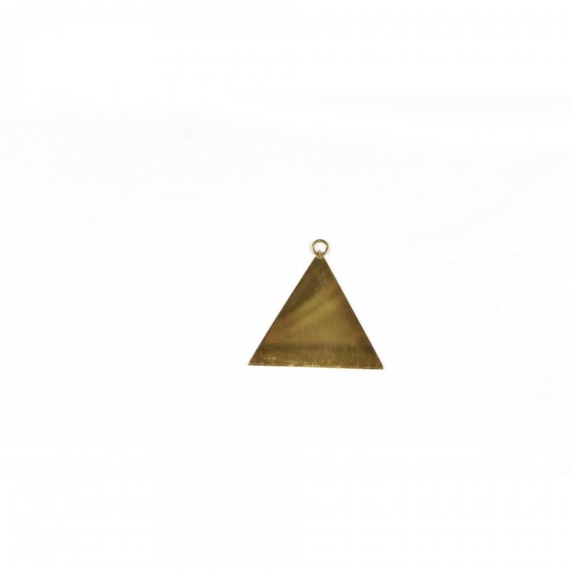 Bijou de sautoir T.F.P.M. 14° degré, lame triangulaire 2 faces miroir