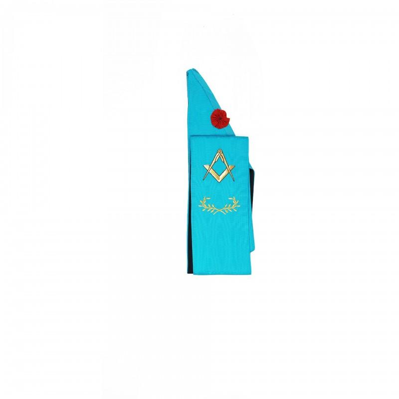 Cordon M.M. RF (turquoise), comme 1E23301, plus broderie acacia et étoile
