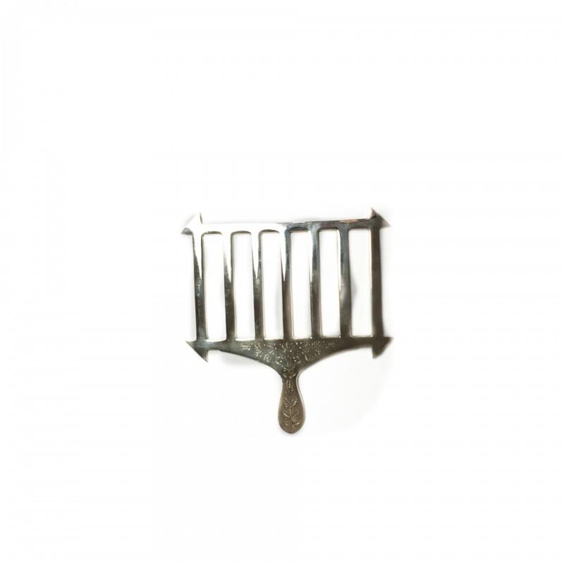 Gril d'Autel ALLIÉS, (grand modèle pour VSL) bronze argenté ou doré