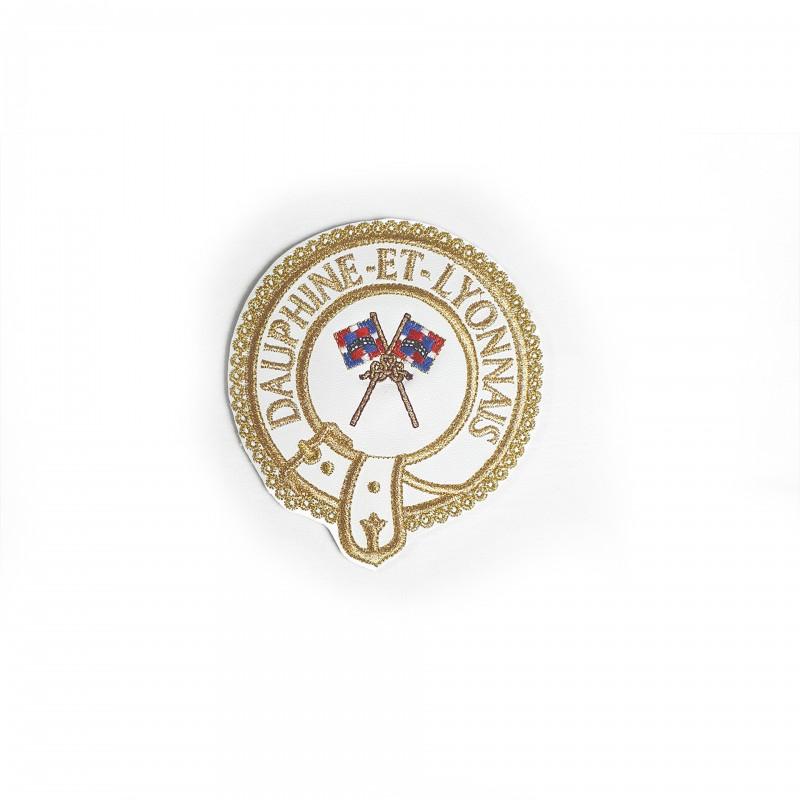 Badge Officier Provincial MARQUE, AVEC nom Province et emblème